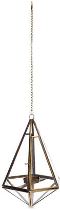 Nkuku Mokomo Hanging Lantern - Antique Brass - Medium