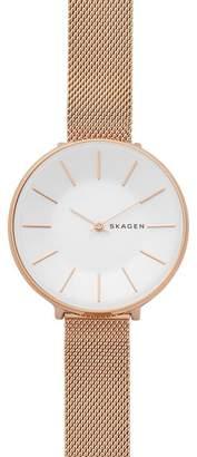 Skagen Karolina Rose Gold Watch SKW2688