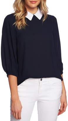 8a1a3b12d181d CeCe Embroidered Collar Blouse