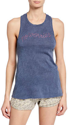 Sundry No Worries Twisted Racerback Tank
