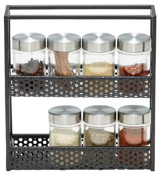 Salt&Pepper 9 Piece Mode Spice Rack Set