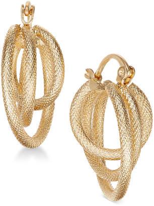 Charter Club Gold-Tone Multi-Hoop Earrings, Created for Macy's