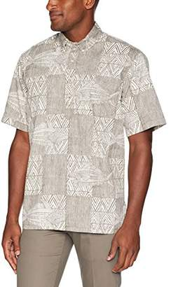 Reyn Spooner Men's Classic Fit Pullover Hawaiian Shirt