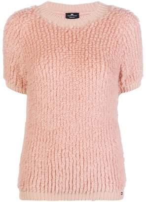 Elisabetta Franchi short sleeve sweater