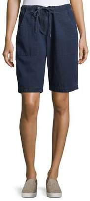Eileen Fisher Denim Walking Shorts