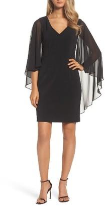 Women's Vince Camuto Cape Dress $148 thestylecure.com