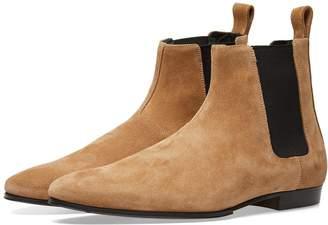 Balmain Suede Chelsea Boot