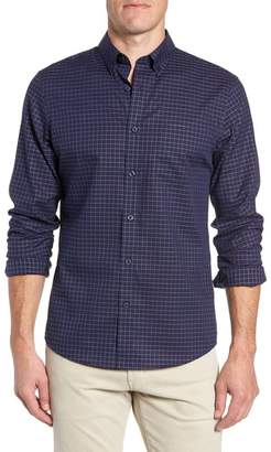 Nordstrom Slim Fit Windowpane Sport Shirt