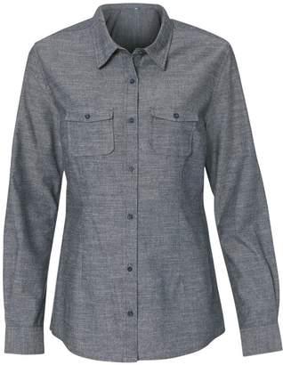 Burnside Ladies Long Sleeve Chambray Shirt.B5255