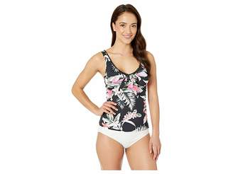 Tommy Bahama Gingerflower Over the Shoulder Tankini