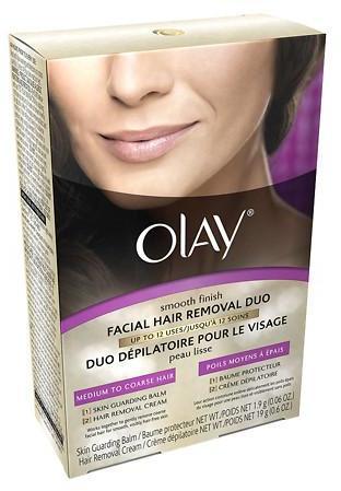 Olay Smooth Finish Facial Hair Removal Duo, Medium to Coarse Hair