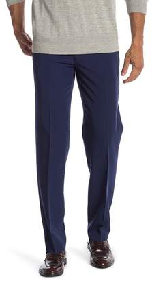 """Nautica Solid Woven Stretch Fit Pants - 30-34\"""" Inseam"""