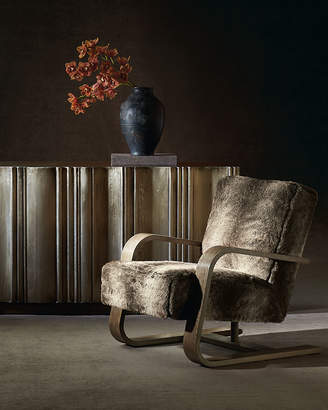 Bernhardt Augusta Faux-Fur Chair