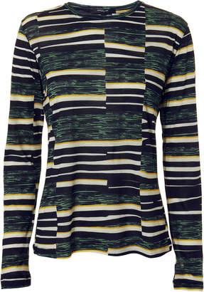 Derek Lam Patchwork Long-Sleeved T-Shirt