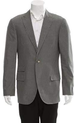 Michael Bastian Pinstripe Single Button Blazer