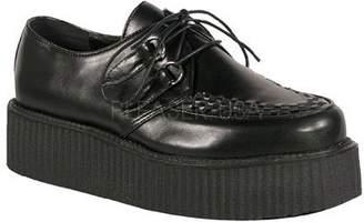 Demonia PU 2 inch Platform Veggie Creeper Shoe Mens Unisex V-CREEPER-502-10
