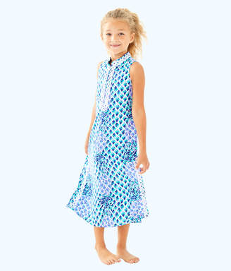 Lilly Pulitzer Girls Mini Jane Maxi Dress