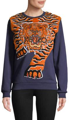 Kenzo Graphic Embroidery Sweatshirt
