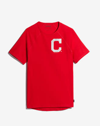 Express Cleveland Indians Reflective Graphic Tee