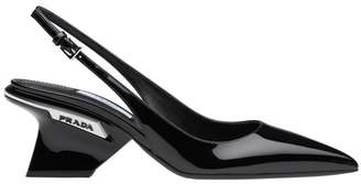 Prada Patent Leather Slingbacks