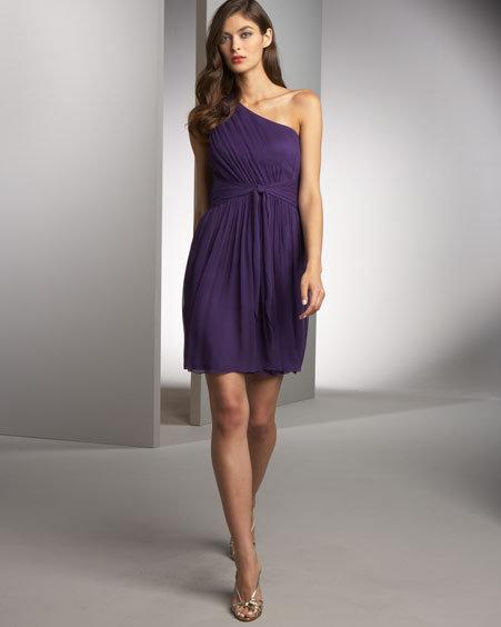 Jay Godfrey Bruni Silk Chiffon Dress