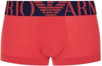 Giorgio Armani Mega Logo Cotton Trunks