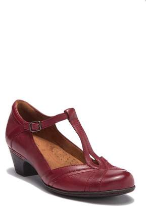 Rockport Amelia Leather T-Strap Mary Jane Pump