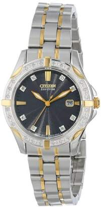 Citizen Women's Eco-Drive Diamon Watch with Date