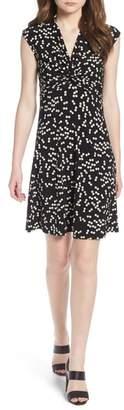 Anne Klein Twist Front Knit Dress