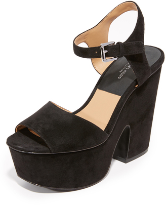 Michael Kors Collection Harley Platform Sandals $395 thestylecure.com