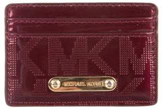 MICHAEL Michael Kors Monogram Card Case