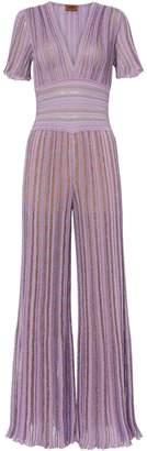 Missoni Lilac Striped Jumpsuit