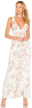 MAJORELLE Magnolia Maxi Dress $238 thestylecure.com