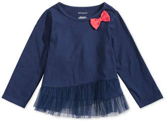 First Impressions Baby Girls Ruffle-Hem T-Shirt