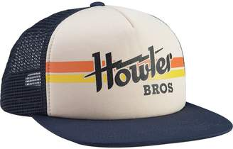 Howler Brothers Electric Stripe Print Snapback Hat