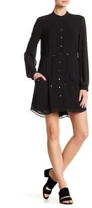 Haute Hippie Double Down Front Button Dress