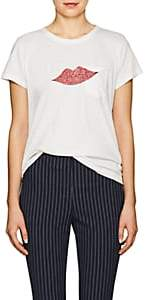 "Rag & Bone Women's ""Lips"" Cotton T-Shirt-White"