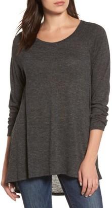 Women's Caslon High/low Tunic Sweatshirt $42 thestylecure.com