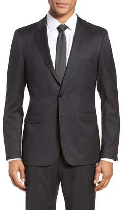 BOSS Ryan CYL Extra Trim Fit Solid Wool Sport Coat