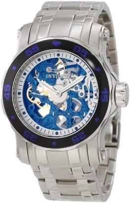 Invicta Men's 10306 Pro Diver Mechanical Blue Skeleton Dial Watch