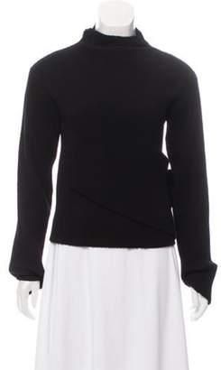 J.W.Anderson Rib Knit Plisse Sweater Black Rib Knit Plisse Sweater