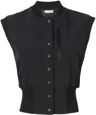 Paco Rabanne sleeveless Teddy jacket