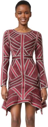 Herve Leger Carlotta Dress $2,390 thestylecure.com