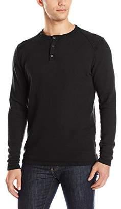Agave Men's Essex Long Sleeve Henley Shirt