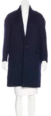 Isabel Marant Linen & Wool-Blend Coat