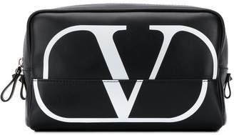 Valentino VLOGO wash bag