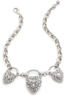 Lulu Frost Nina Triple Drop Necklace - Clear