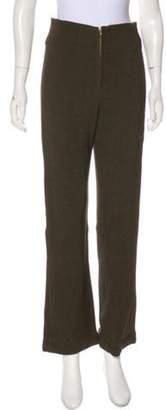 Post Card High-Rise Wide-Leg Pants Olive High-Rise Wide-Leg Pants