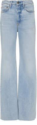 GRLFRND Denim Carla High-Rise Flared Jeans