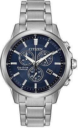 Citizen Eco-Drive Men's 'Titanium' Quartz Casual Watch